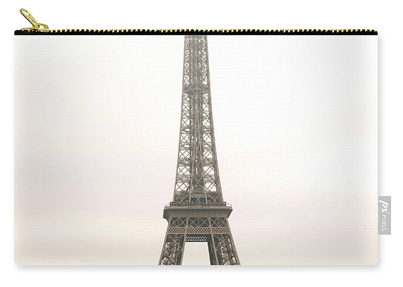 Eiffel Carry-all Pouch featuring the photograph Eiffel Tower by Elena Elisseeva