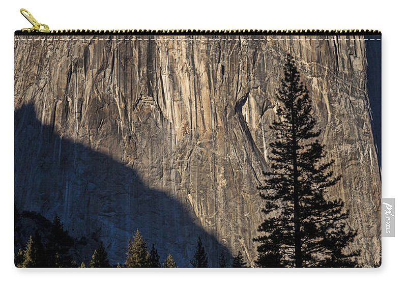 El Capitan Carry-all Pouch featuring the photograph El Capitan by Garry Gay