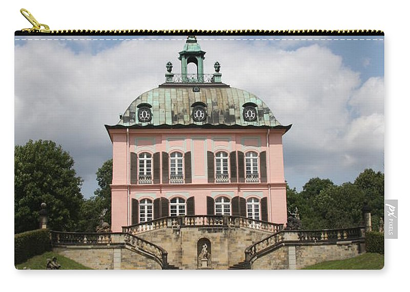 Palace Carry-all Pouch featuring the photograph Fasanen Schloesschen - Germany  Pheasant Palace by Christiane Schulze Art And Photography
