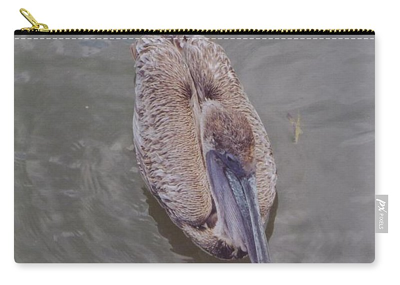 Matlasha Carry-all Pouch featuring the photograph Female Pelican by Robert Floyd