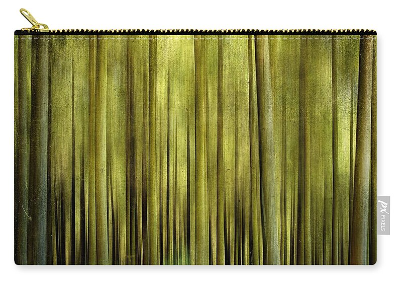 Abstract Carry-all Pouch featuring the photograph Forest by Bernard Jaubert