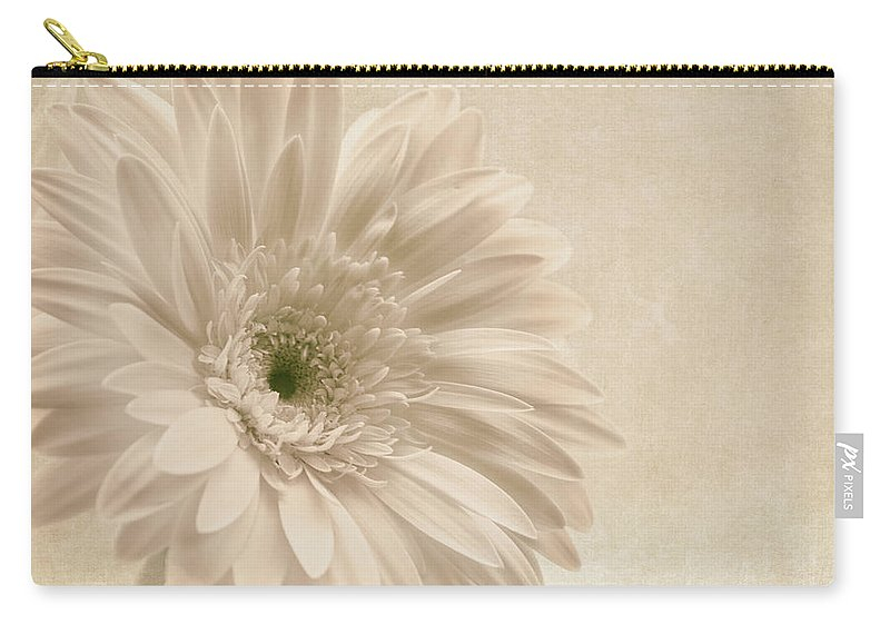 Gerbera Carry-all Pouch featuring the photograph Forever More by Kim Hojnacki