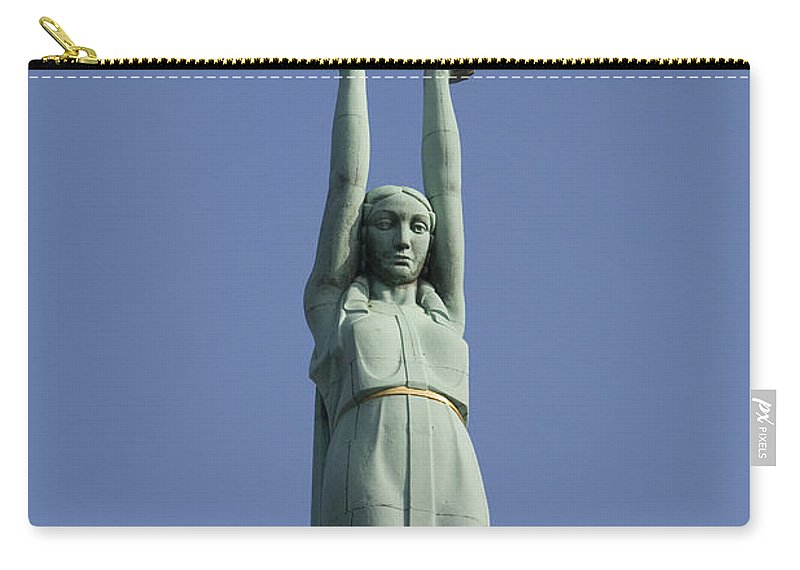 Travel Carry-all Pouch featuring the photograph Freedom Monument by Jason O Watson