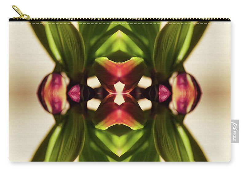 Fritillaria Carry-all Pouch featuring the photograph Fritillaria Flower Plant by Silvia Otte