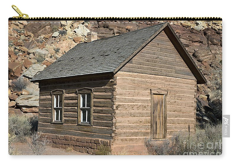 Capitol Reef Carry-all Pouch featuring the photograph Frutia Schoolhouse Capitol Reef National Park Utah by Jason O Watson