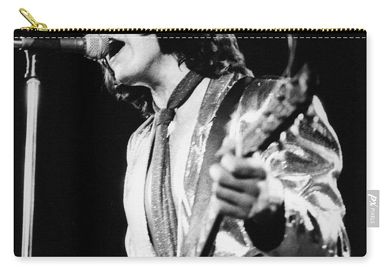 Gary Carry-all Pouch featuring the photograph Gary Moore by David Fowler