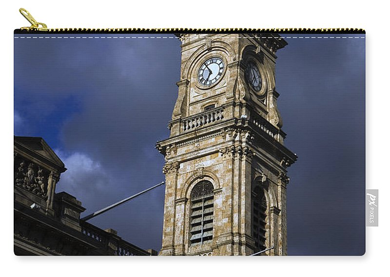 Travel Carry-all Pouch featuring the photograph General Post Office Adelaide by Jason O Watson