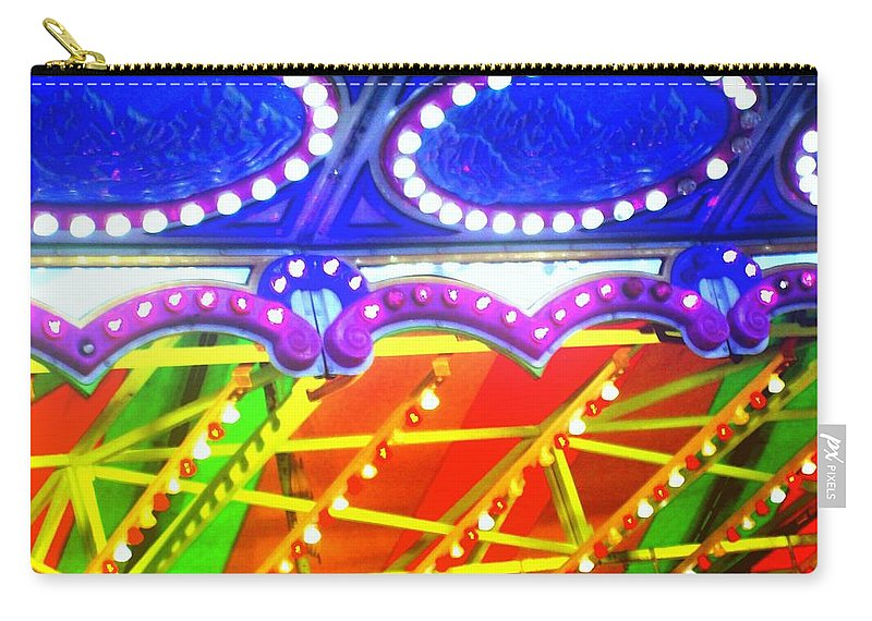Carry-all Pouch featuring the photograph Glow by Laurette Escobar