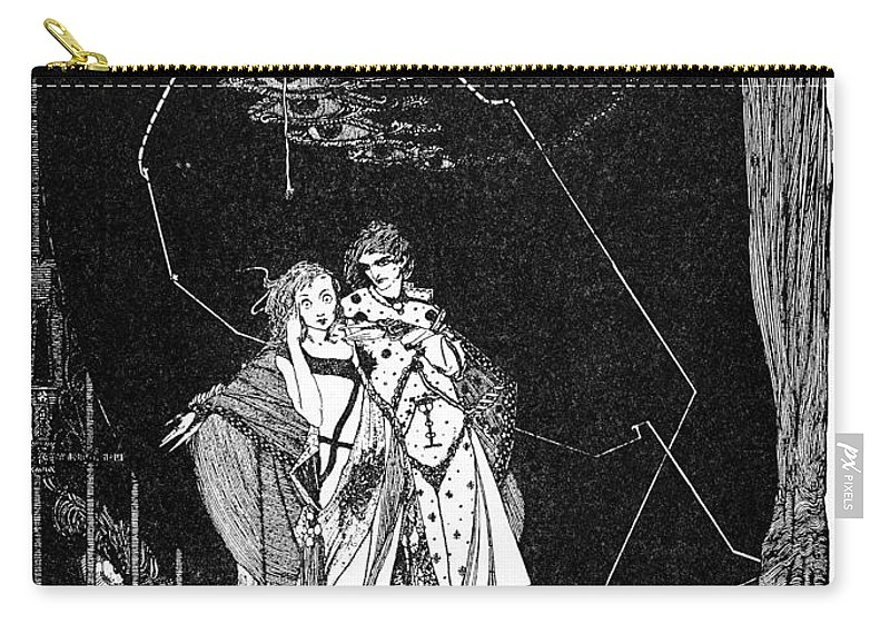 18th Century Carry-all Pouch featuring the photograph Goethe: Faust by Granger