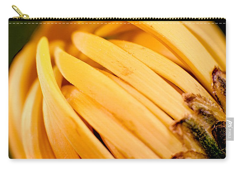 Blue Carry-all Pouch featuring the photograph Going Bananas by Omaste Witkowski