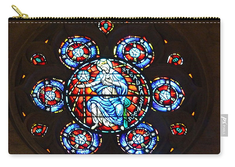 Grace Cathedral Carry-all Pouch featuring the photograph Grace Cathedral by Dean Ferreira