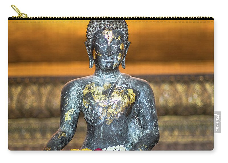 Southeast Asia Carry-all Pouch featuring the photograph Grand Palace In Bangkok by Deimagine