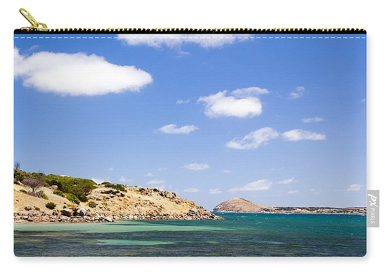 South Australia Carry-all Pouch featuring the photograph Granite Island South Australia by Tim Hester