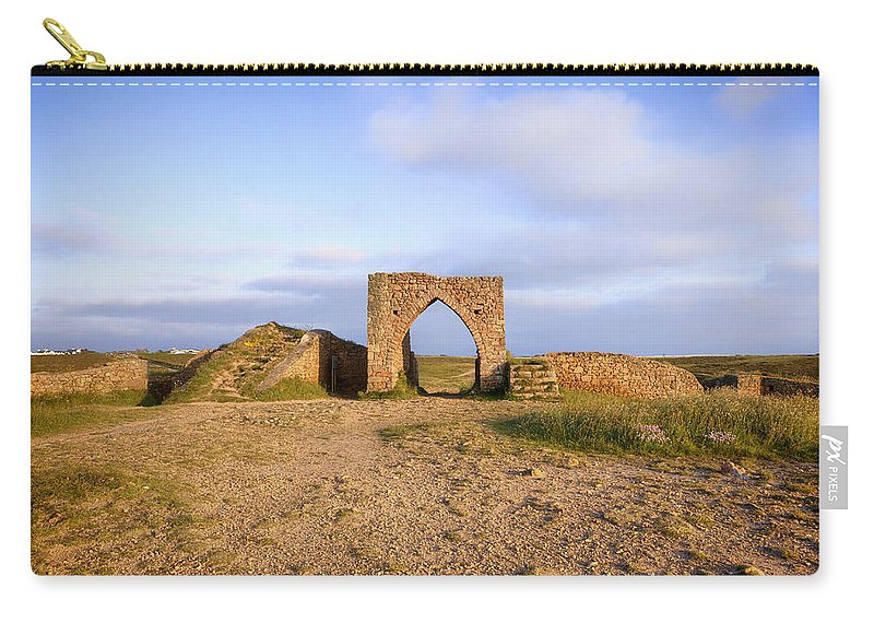 Grosnez Castle Carry-all Pouch featuring the photograph Grosnez Castle - Jersey by Joana Kruse