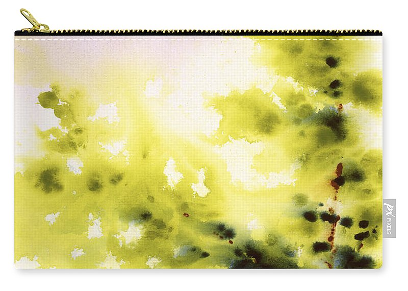 Original Carry-all Pouch featuring the painting Haiku by Jerome Lawrence