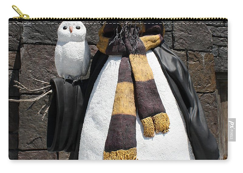 Greetings Card Carry-all Pouch featuring the photograph Harry Christmas by David Nicholls