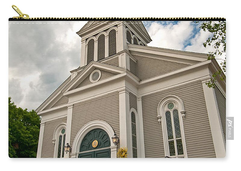 holy Family Parish Carry-all Pouch featuring the photograph Holy Family Parish by Paul Mangold