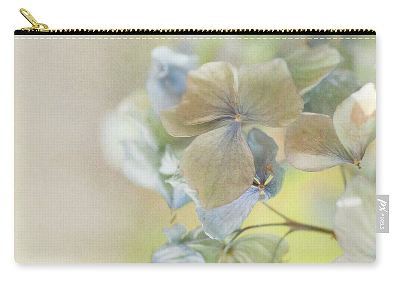 Hydrangea Carry-all Pouch featuring the photograph Hydrangea by Jill Ferry