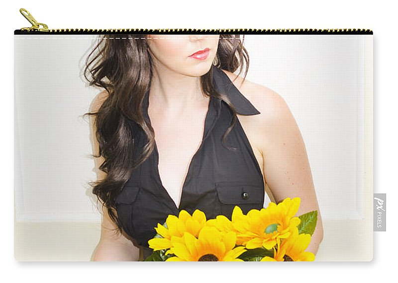 Attractive Carry-all Pouch featuring the photograph In Love And Waiting by Jorgo Photography - Wall Art Gallery