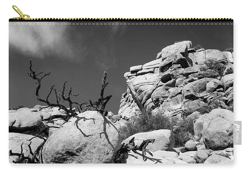 Joshua Tree Carry-all Pouch featuring the photograph Joshua Tree 2 by Alex Snay