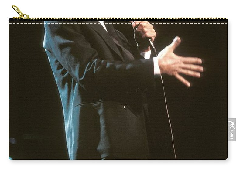 Appearance Carry-all Pouch featuring the photograph Julio Iglesias by Concert Photos