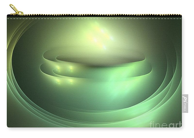 Apophysis Carry-all Pouch featuring the digital art Jupiter by Kim Sy Ok