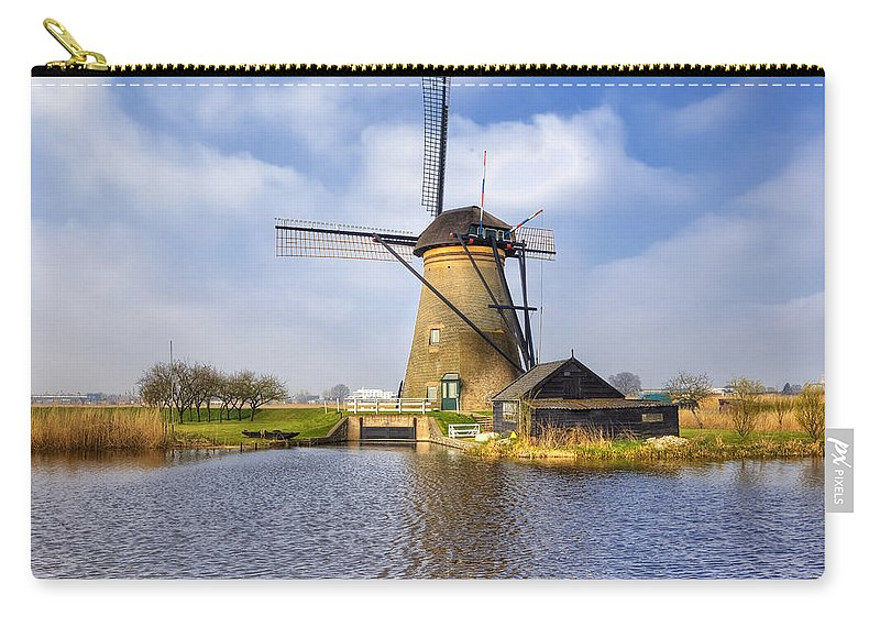 Kinderdijk Carry-all Pouch featuring the photograph Kinderdijk by Joana Kruse