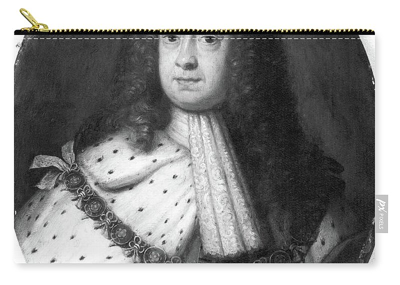 18th Century Carry-all Pouch featuring the painting King George I (1660-1727) by Granger