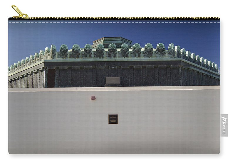 Los Angeles Carry-all Pouch featuring the photograph La Griffith Observatory by Gabe Arroyo