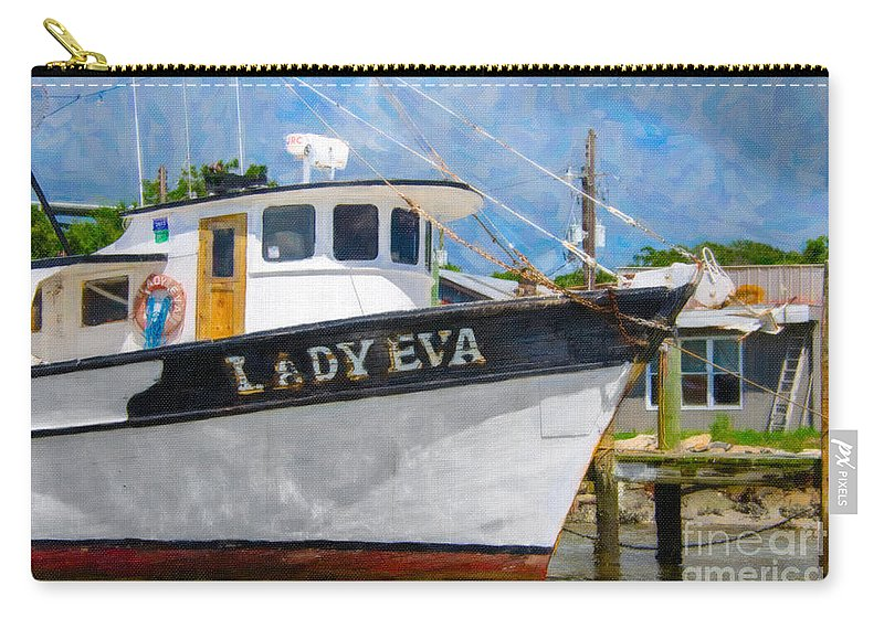 Lady Eva Carry-all Pouch featuring the photograph Lady Eva by Dale Powell