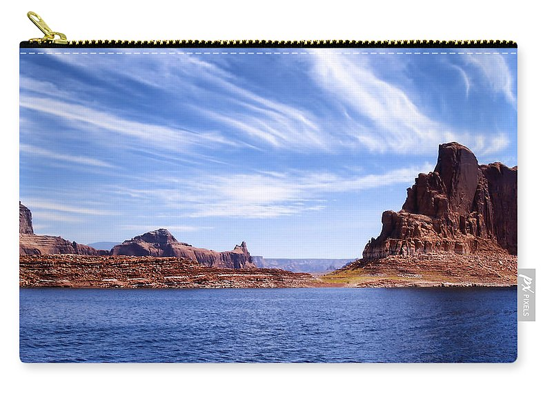 Lake Powell Carry-all Pouch featuring the photograph Lake Powell by Mountain Dreams