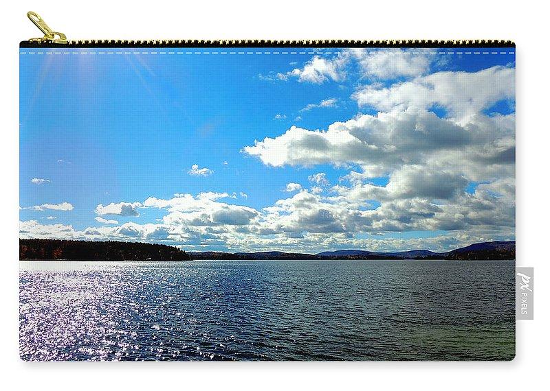 Lake Winnipesaukee Carry-all Pouch featuring the photograph Lake Winnipesaukee by Mim White