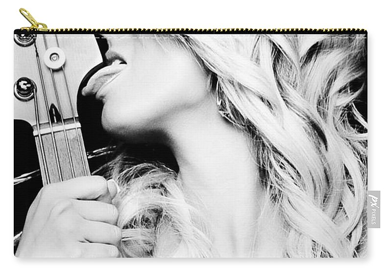 Adult Carry-all Pouch featuring the photograph Lick by Jt PhotoDesign
