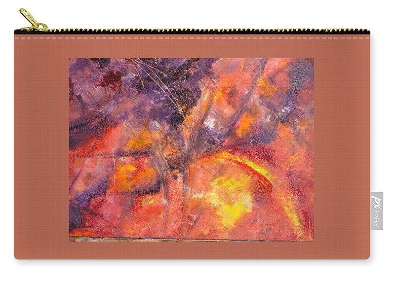 Life Carry-all Pouch featuring the painting Life by Lord Frederick Lyle Morris - Disabled Veteran
