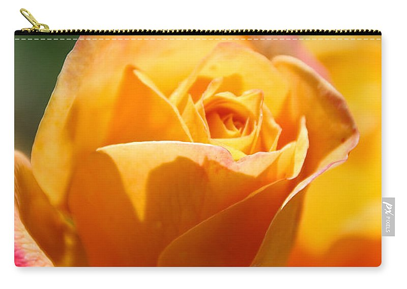 Flower Carry-all Pouch featuring the photograph Lipstick by Susan Herber