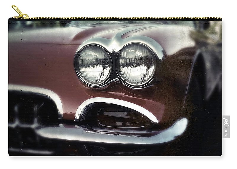 Classic Carry-all Pouch featuring the photograph Little Red Corvette by Tim Nyberg