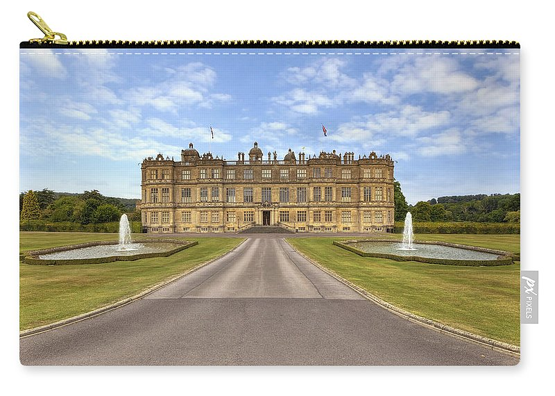 Longleat House Carry-all Pouch featuring the photograph Longleat House Wiltshire by Joana Kruse