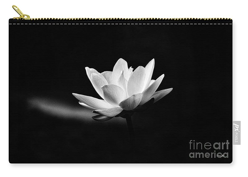 Lotus Carry-all Pouch featuring the photograph Lotus by Scott Pellegrin