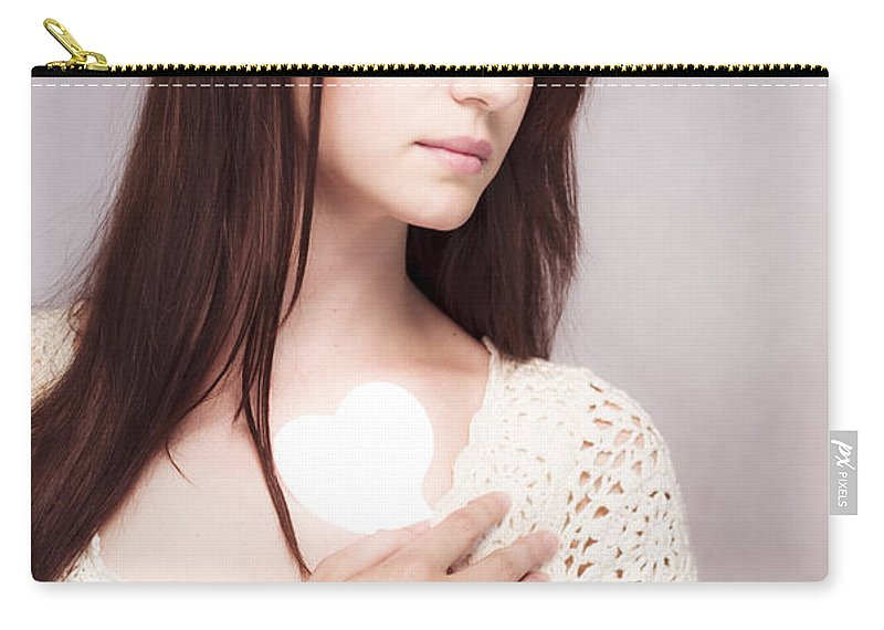 Ache Carry-all Pouch featuring the photograph Love And Loss by Jorgo Photography - Wall Art Gallery