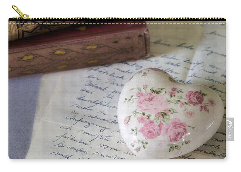 Quill Carry-all Pouch featuring the photograph Love Letter by Joana Kruse