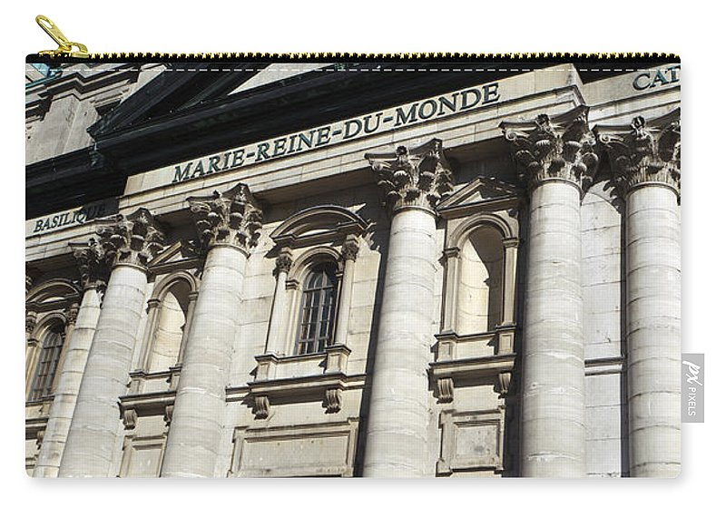 Travel Carry-all Pouch featuring the photograph Mary Queen Of The World Cathedral by Jason O Watson