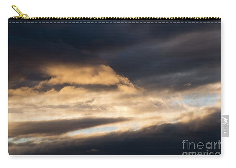 Cloud Carry-all Pouch featuring the photograph Masses Of Dark Clouds by Michal Boubin