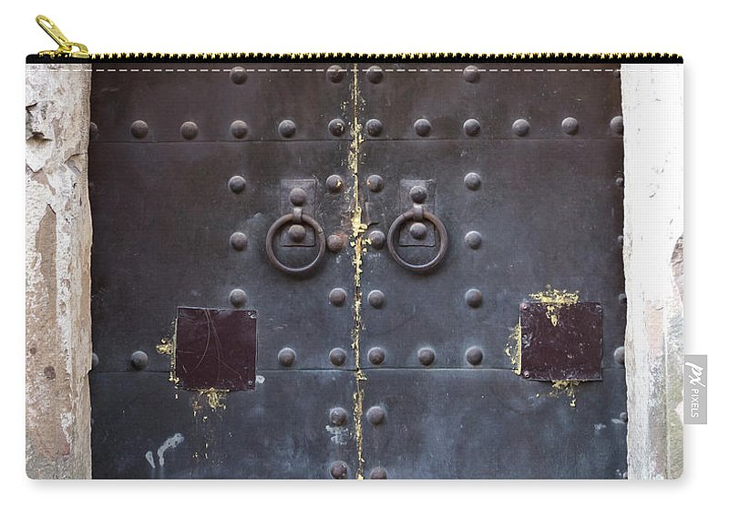 Arch Carry-all Pouch featuring the photograph Medieval Door by ????? ???????