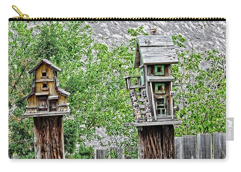 Bird House Carry-all Pouch featuring the photograph Melba Idaho by Image Takers Photography LLC