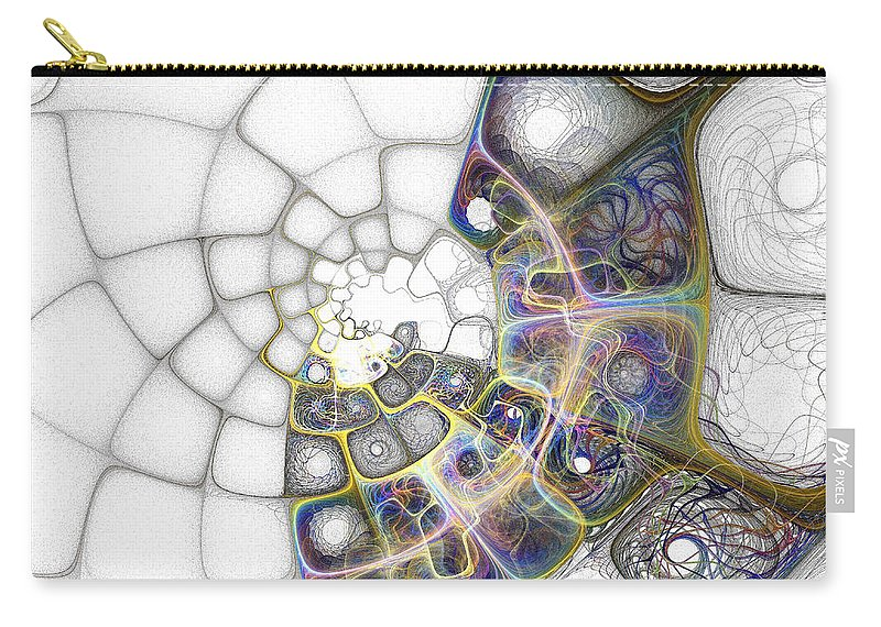 Digital Art Carry-all Pouch featuring the digital art Memories by Amanda Moore