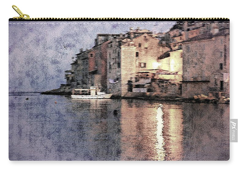 Rovinj Carry-all Pouch featuring the photograph Memory Of Rovinj - Croatia by Madeline Ellis