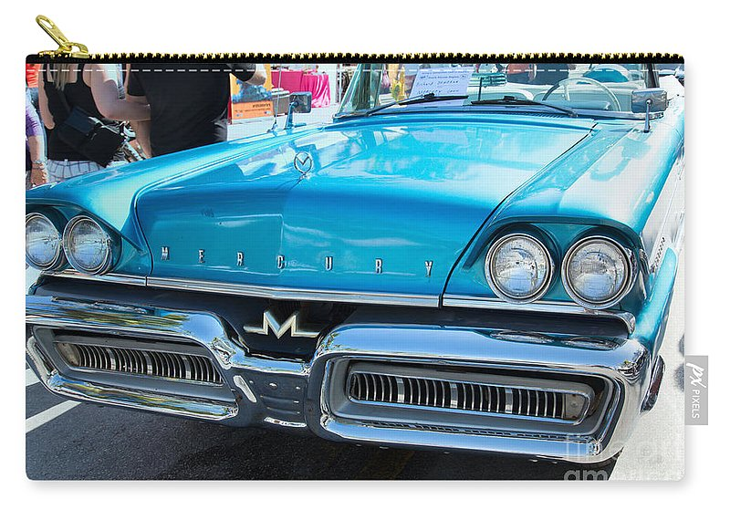 Cars Carry-all Pouch featuring the digital art Mercury by Carol Ailles