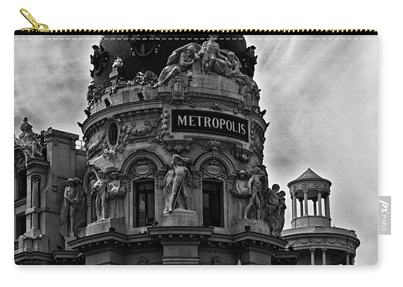 Metropolis Carry-all Pouch featuring the photograph Metropolis by David Pringle