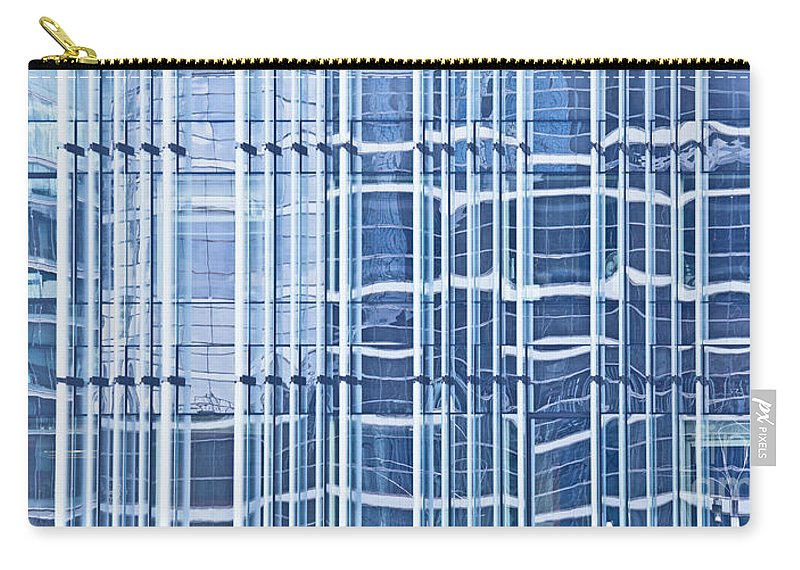 Modern Carry-all Pouch featuring the photograph Modern Architecture Detail by Liz Leyden