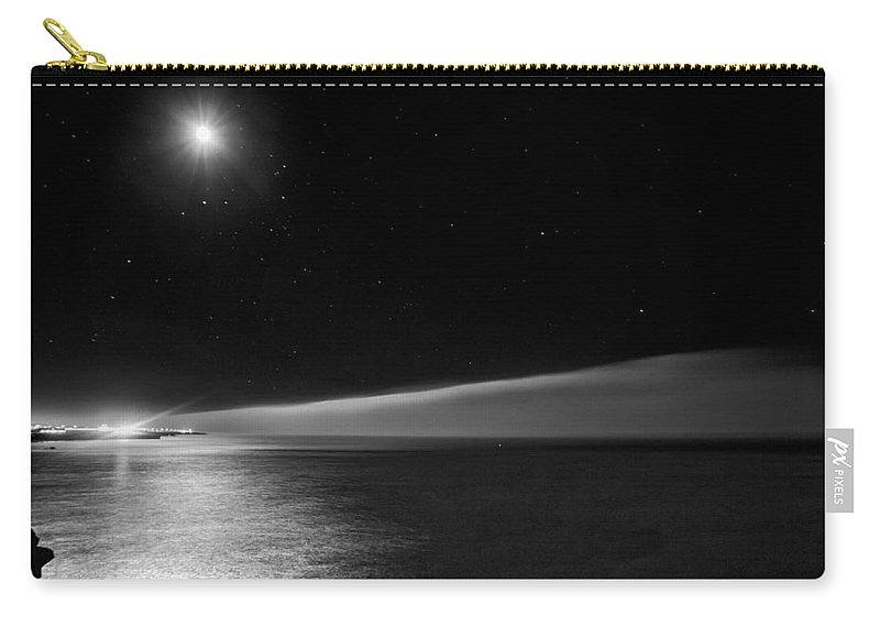 Moon Carry-all Pouch featuring the photograph Moonlight by Jose Bispo